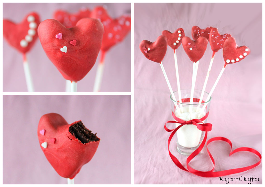 Valentins Heart Popcakes
