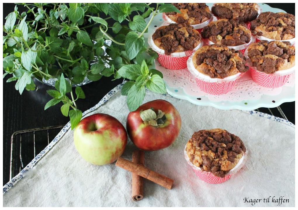 Æble-kanel-muffins-med-streusel