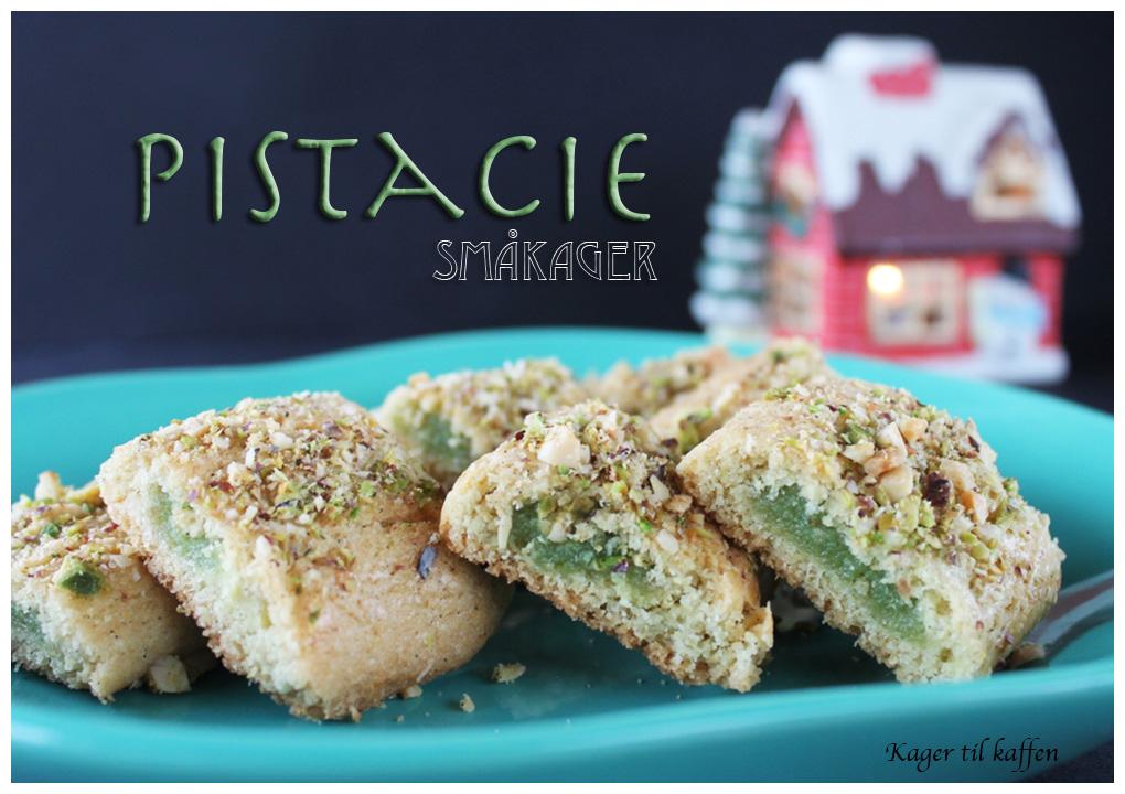 Småkager med pistacie