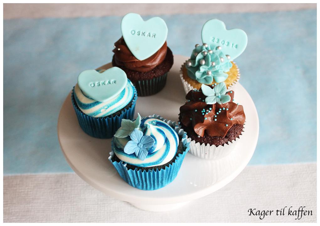 barnedåb - cupcakes
