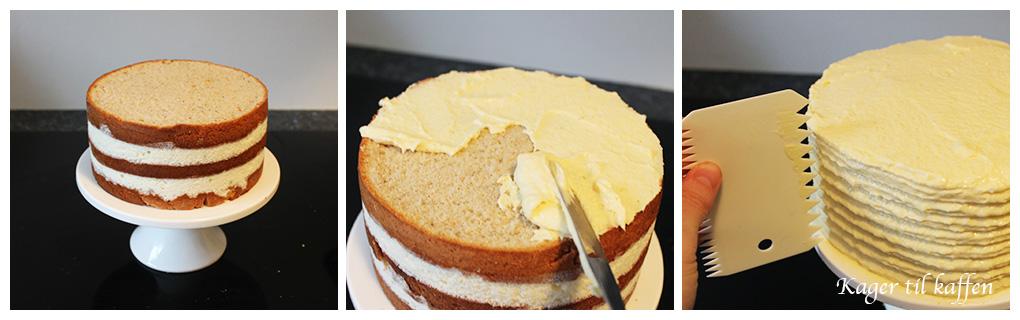 Opsmørre kage