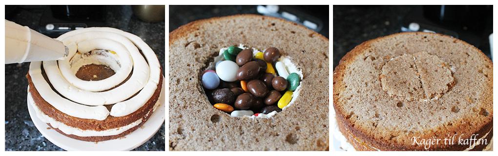 Samling af kagen
