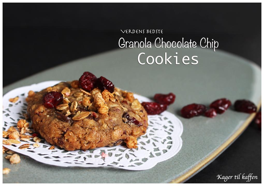 verdens bedste granola cookies
