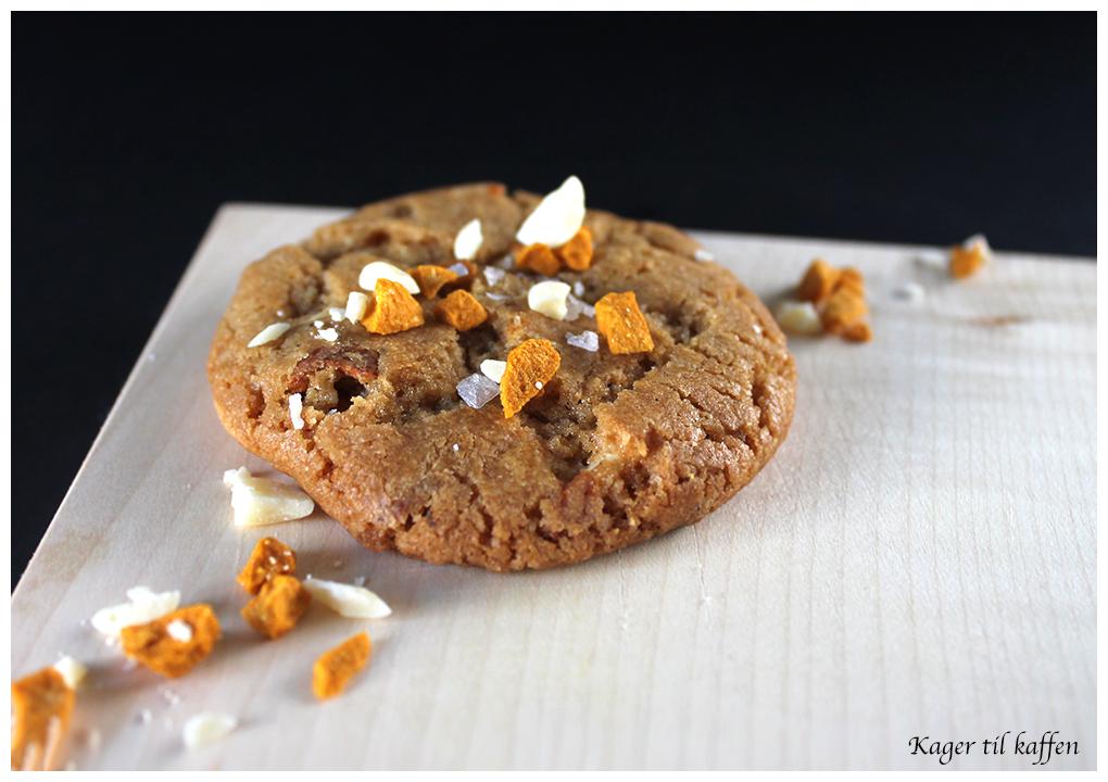 Havtorn & hvid chokolade cookies