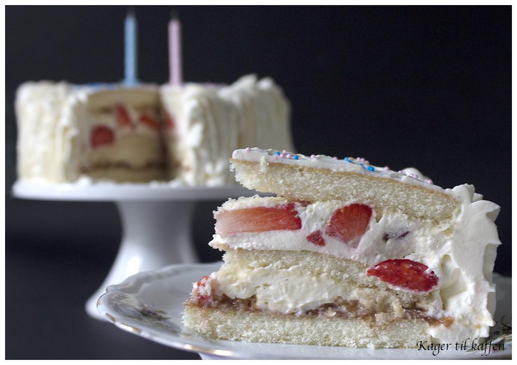 klassisk fødselsdagslagkage