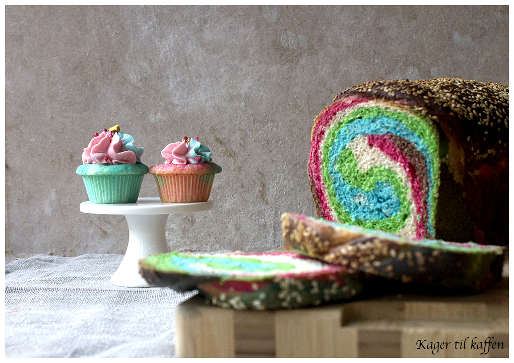 Colorfull baking